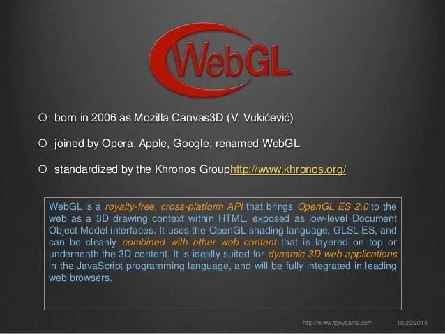 WebGL: The Next Generation