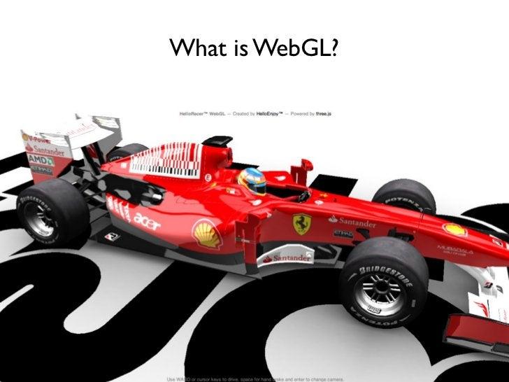 What is WebGL?