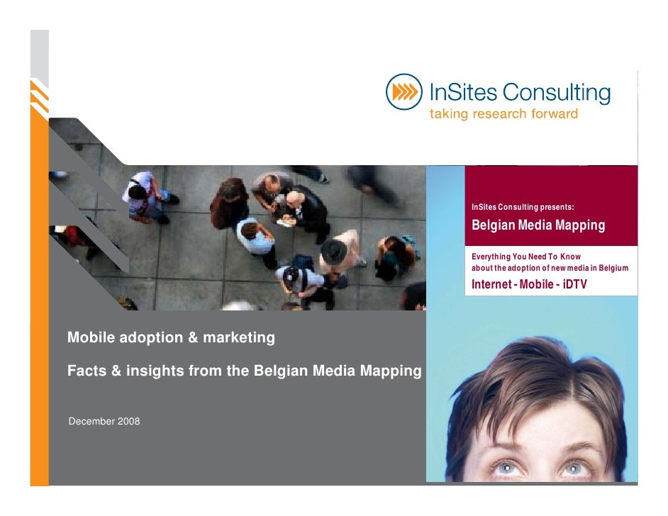 InSites Consulting presents:                                                    Belgian Media Mapping                     ...