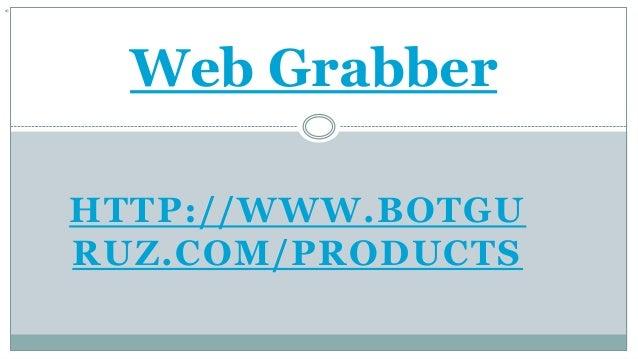 grabber web slideshare