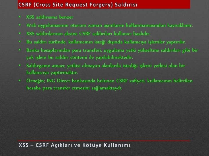• Bu mantıkla çalışan bir sitede sql injection saldırısı yapacaksak eğer, bize  kullanıcı adı ve şifreyi her zaman döndüre...