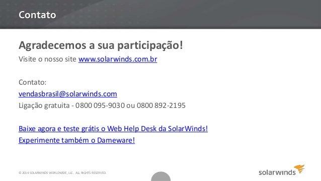 Web Help Desk E Dameware 174 O Salva Vidas Do Suporte De Ti