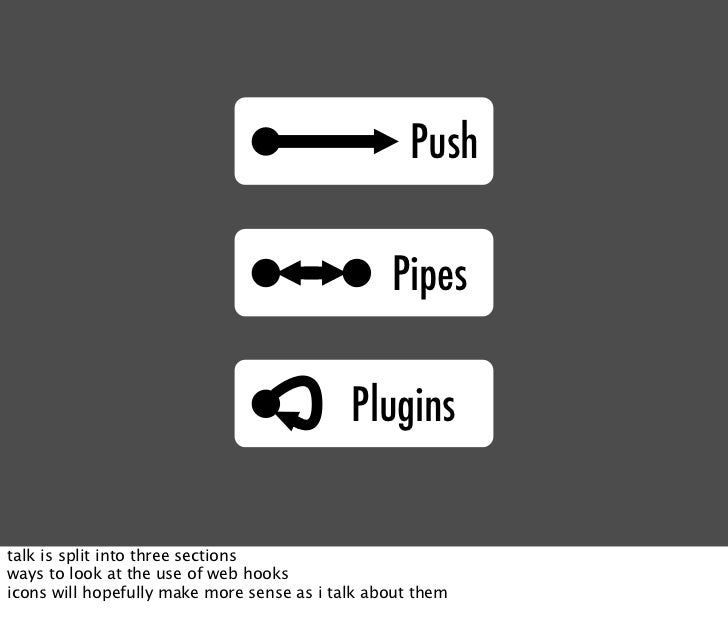 Push                                                   Pipes                                              Plugins   talk i...