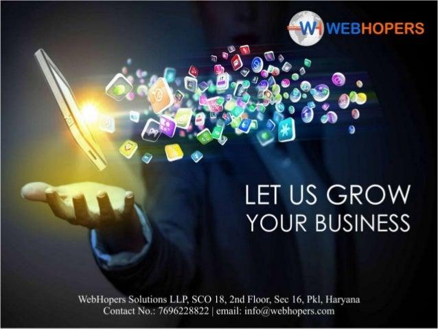 WebHopers Company Profile | Best Digital Marketing & Web Development Company