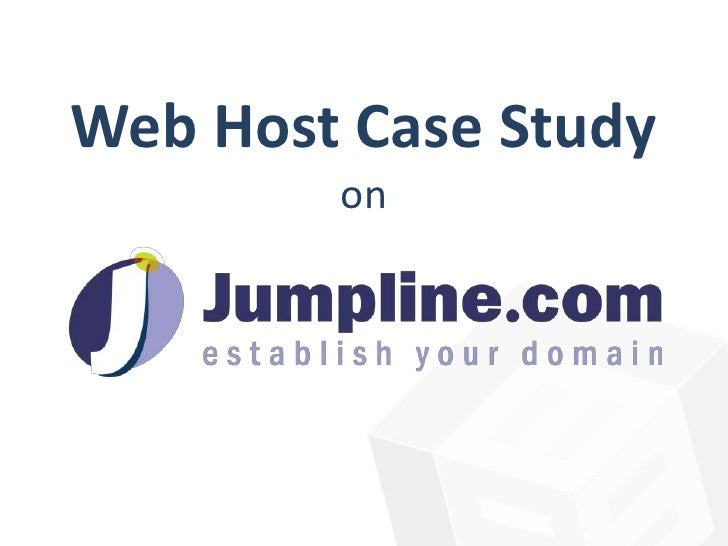 ICANN Accreditation for Web Hosts A Case Study Presentation
