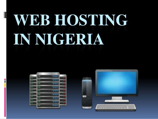WEB HOSTINGIN NIGERIA