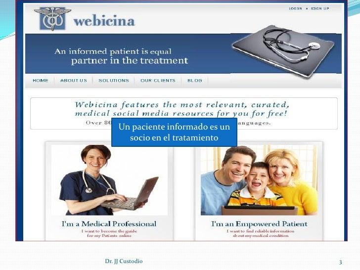 Webicina Slide 3