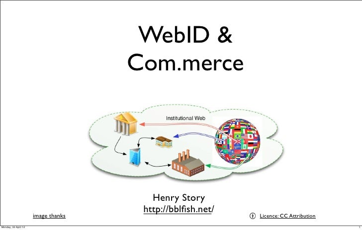 WebID &                                     Com.merce                                        Henry Story                  ...