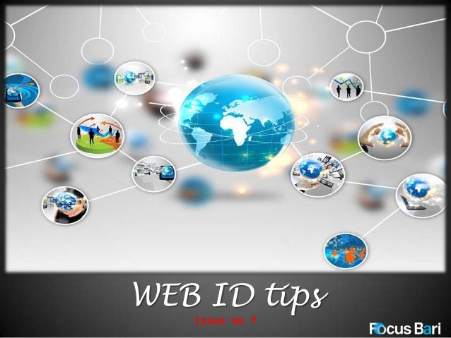 WEB ID tips issue no 7