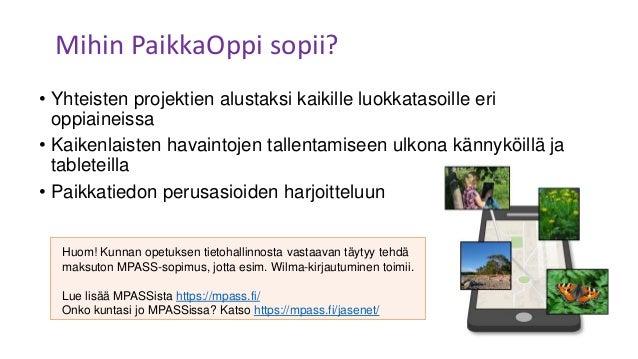 Uusi PaikkaOppi -webinaari Slide 2