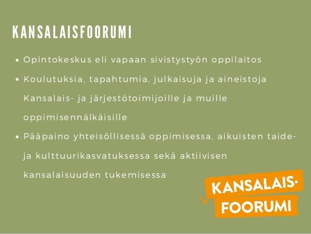 Poluttamo-webinaari: Vertaisvalmennus toisella asteella - Minna Lepistö, Kansalaisfoorumi Slide 2