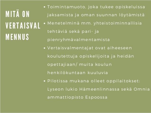 Poluttamo-webinaari: Vertaisvalmennus toisella asteella - Minna Lepistö, Kansalaisfoorumi Slide 3