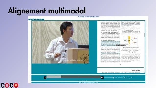 Alignement multimodal