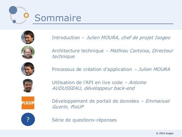 Webinaire Isogeo - l'API v1 en lecture est sortie ! Slide 2