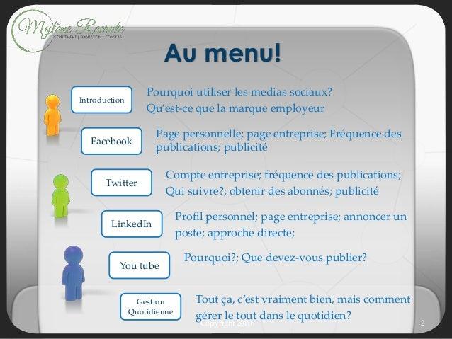Webinaire - Le recrutement social Slide 2