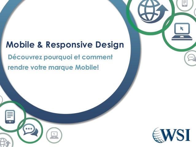 Mobile & Responsive Design