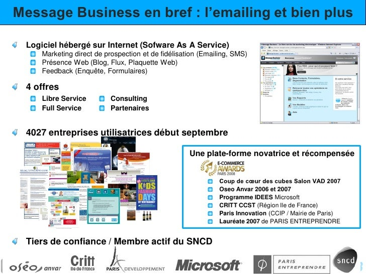 15 Commandements de l'Emailing Slide 2