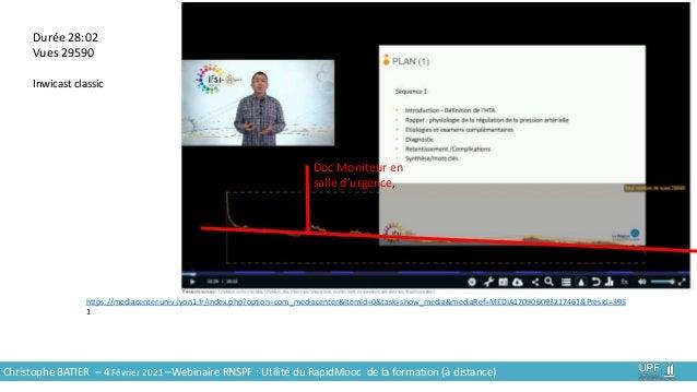9 Durée 28:02 Vues 29590 Inwicast classic Doc Moniteur en salle d'urgence, https://mediacenter.univ-lyon1.fr/index.php?opt...