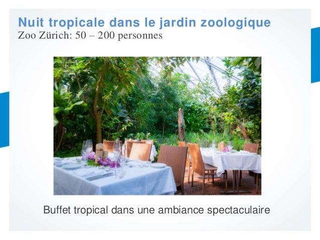 Webinaire zurich lieux branches et insolites pour vos for Jardin zoologique tropical