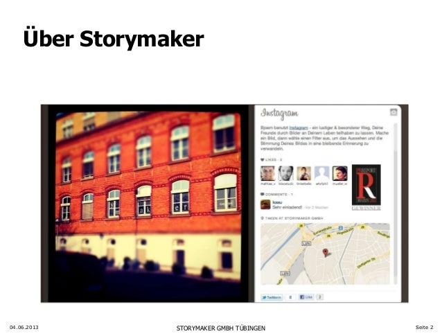 Digitale PR wird Kontextkommunikation - Vortrag Webinale, Björn Eichstädt, Storymaker Slide 2