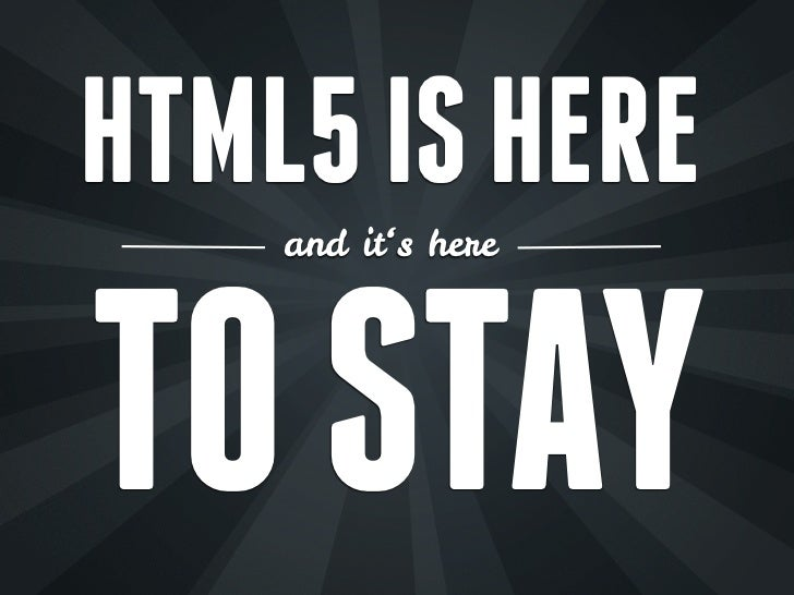 Designing Mobile Apps with HTML5 & CSS3