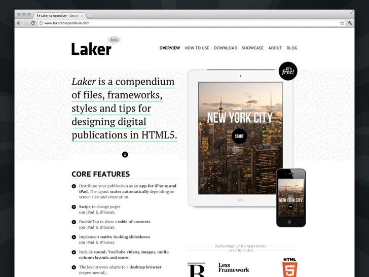 All made with …HTML5