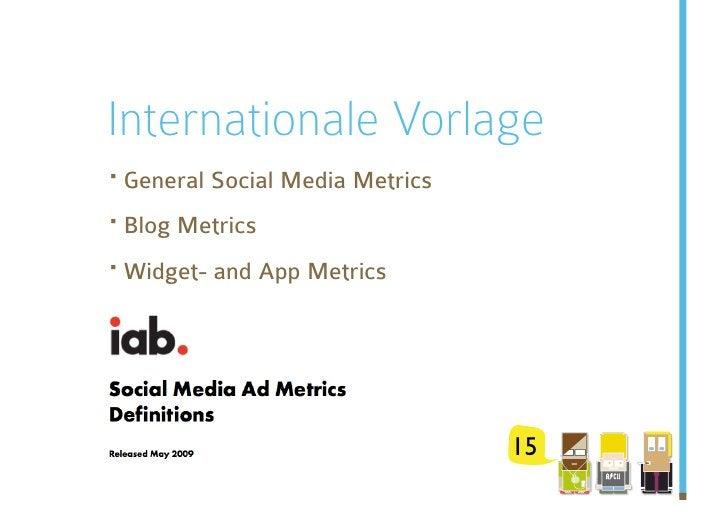 Internationale Vorlage ·General Social Media Metrics ·Blog Metrics ·Widget- and App Metrics                            ...