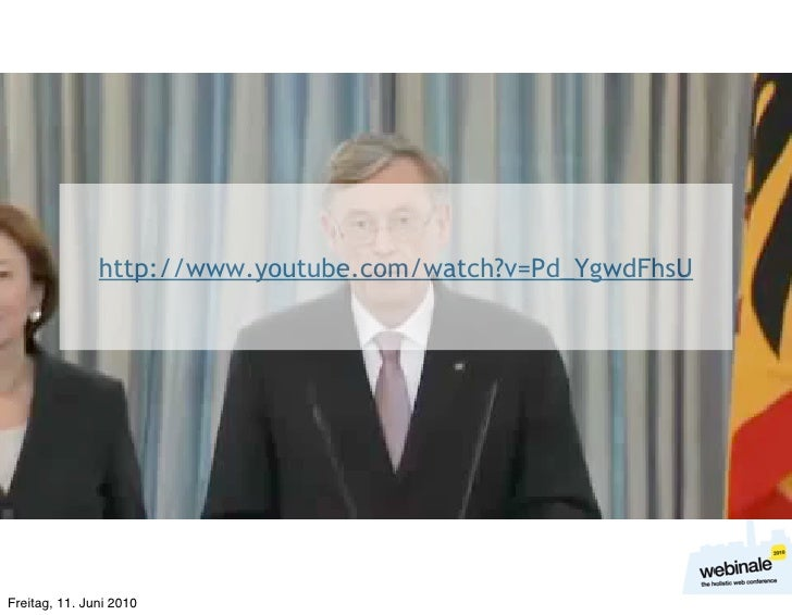 http://www.youtube.com/watch?v=Pd_YgwdFhsU     Freitag, 11. Juni 2010