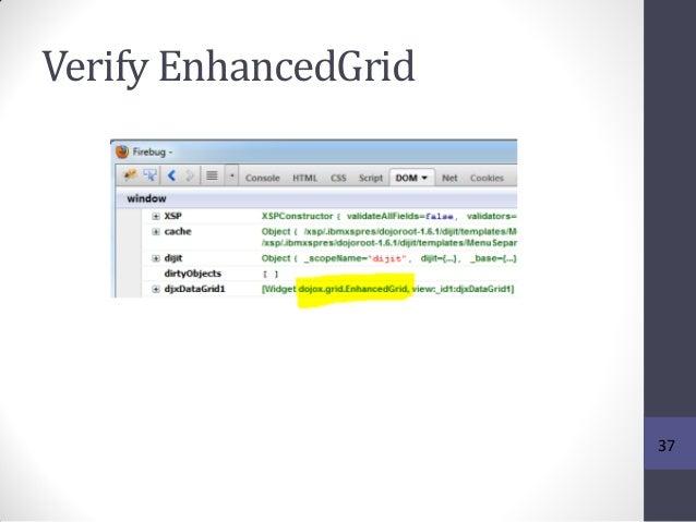 Verify EnhancedGrid 37