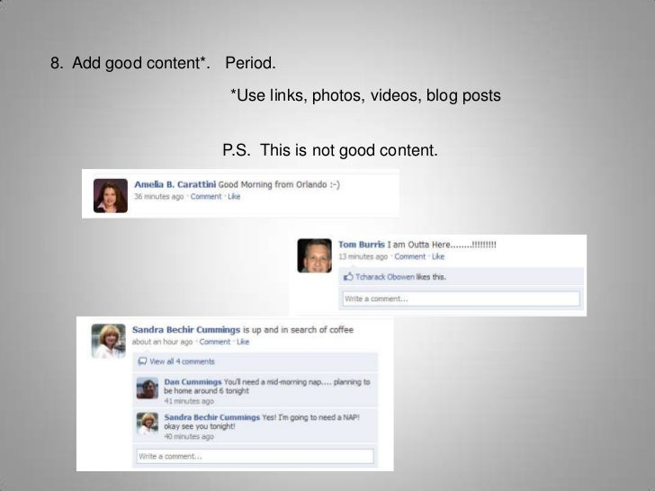 Why are Facebook Pages Best for Business?<br />Pages allow you to create a landing page<br />