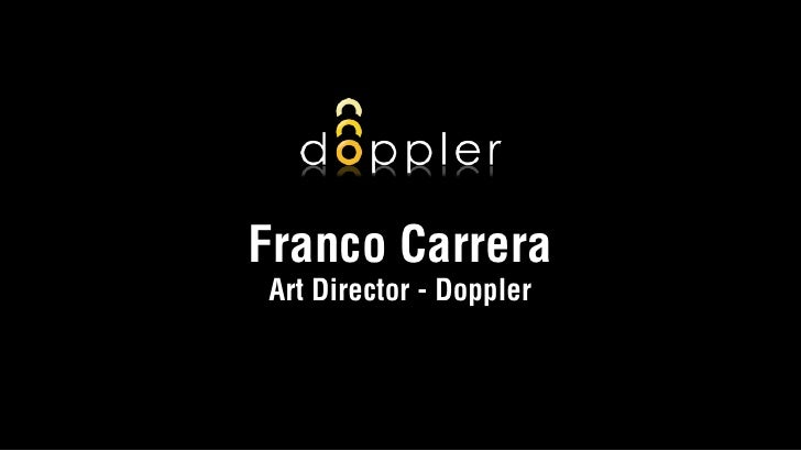 Franco Carrera Art Director - Doppler