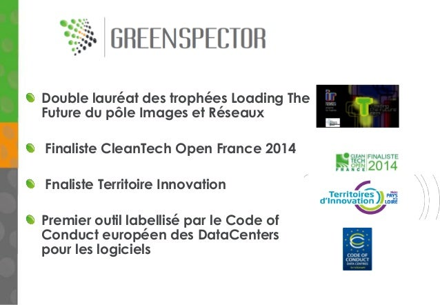 Double lauréat des trophées Loading The Future du pôle Images et Réseaux Finaliste CleanTech Open France 2014 Fnaliste Ter...