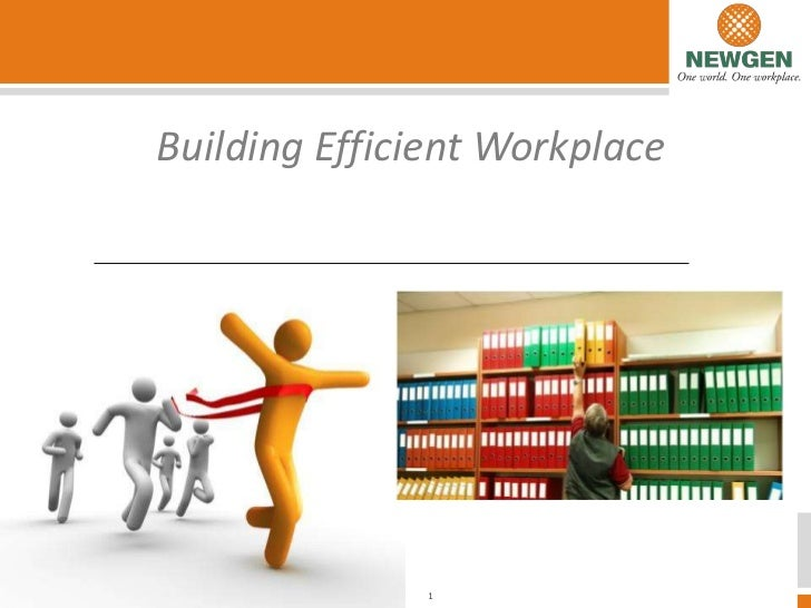 Building Efficient WorkplaceCompany Confidential. Copyright 2011        1