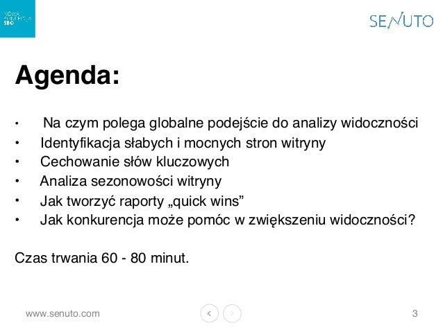 (Webinar) Analiza Widoczności w SEO - 11.01 Slide 3