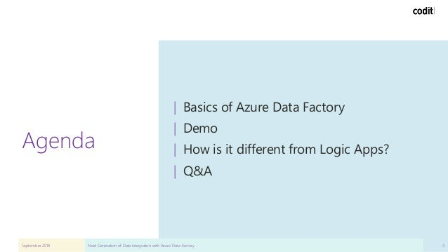 Next Generation Data Integration with Azure Data Factory