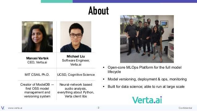 Robust MLOps with Open-Source: ModelDB, Docker, Jenkins, and Prometheus Slide 2