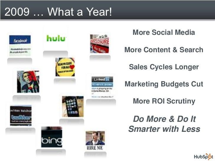 Webinar.2010 Planning Using Hub Spot Slide 3