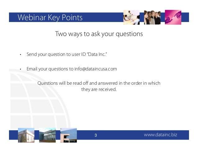DATA Inc's 2013 IT Industry Survey Webinar Slide 3