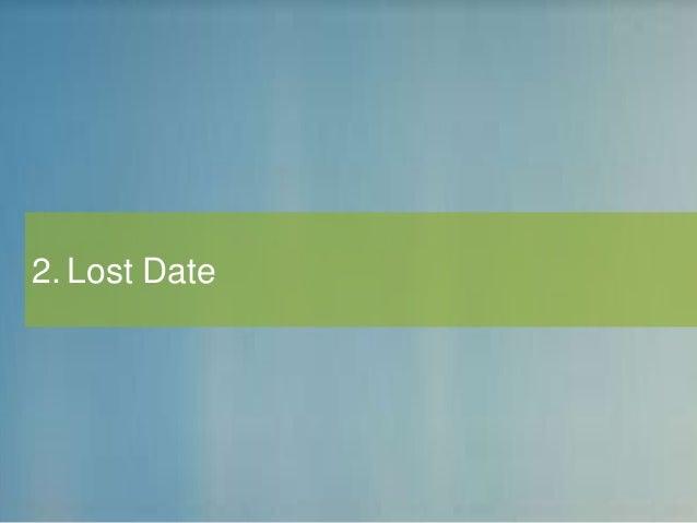 2. Lost Date