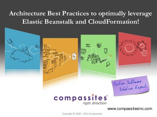 Architecture Best Practices to optimally leverage    Elastic Beanstalk and CloudFormation!                                ...