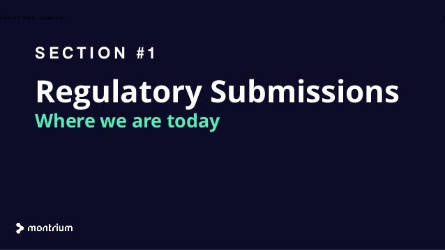 Automating the Regulatory Submission Process - Reducing Time