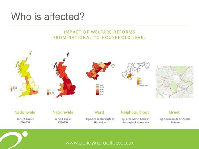 How are the effects of the benefit cap felt by UK families?