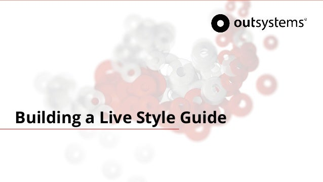 Building a Live Style Guide