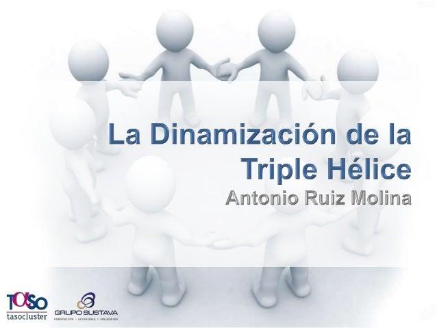Empresas  La Triple  Hélice  GOBIERNO  La Triple Hélice  ACADEMIA  Investigación,  Innovación regional,  Conocimiento  Cap...