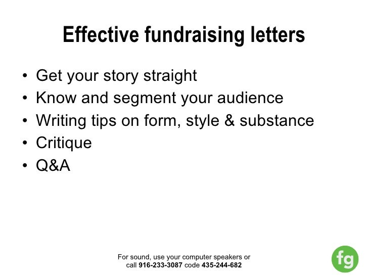 Effective Fundraising Emails and Letters webinar