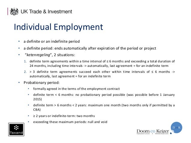 Employment Law  Employee Tax In The Netherlands