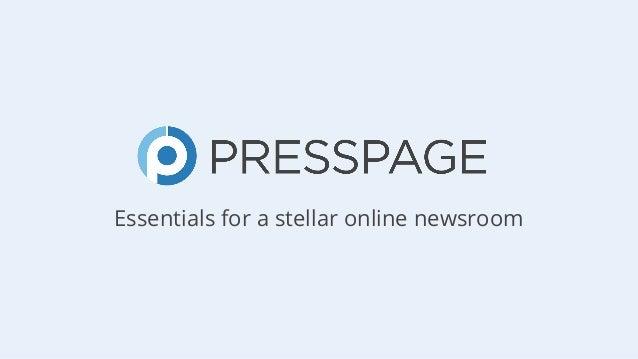 Essentials for a stellar online newsroom