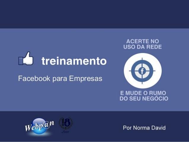 Facebook para Empresas