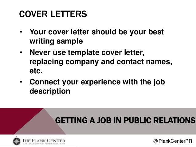 Getting a Job in Public Relations – Public Relations Job Description