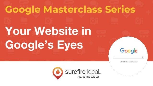 Google Masterclass Series